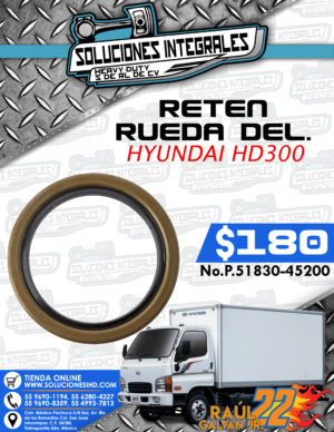 RETEN RUEDA DELANTERA HYUNDAI HD300