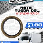 RETEN RUEDA DELANTERA HYUNDAI HD400