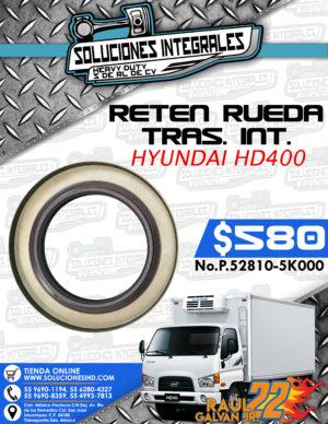 RETEN RUEDA TRASERO INTERIOR HYUNDAI HD400