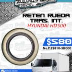 RETEN RUEDA TRASERO INTERIOR HYUNDAI HD500