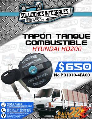 TAPÓN TANQUE COMBUSTIBLE HYUNDAI HD200