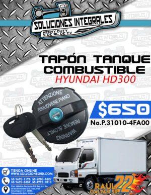 TAPÓN TANQUE COMBUSTIBLE HYUNDAI HD300
