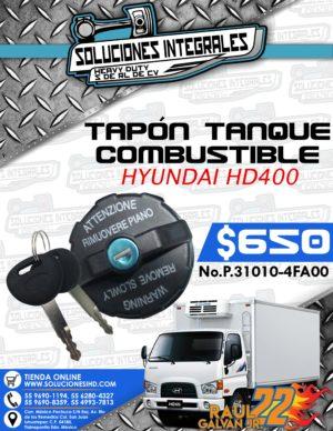 TAPÓN TANQUE COMBUSTIBLE HYUNDAI HD400