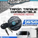 TAPÓN TANQUE COMBUSTIBLE HYUNDAI HD500