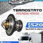 TERMOSTATO HYUNDAI HD400
