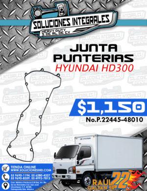 JUNTA PUNTERÍAS HYUNDAI HD300