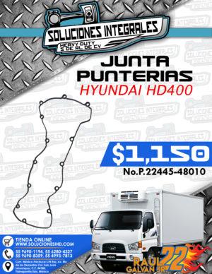 JUNTA PUNTERÍAS HYUNDAI HD400