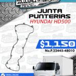 JUNTA PUNTERÍAS HYUNDAI HD500
