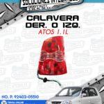 CALAVERA DER. O IZQ. ATOS 1.1L