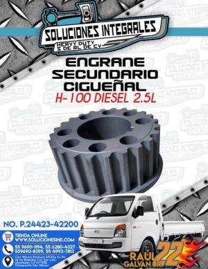 ENGRANE SECUNDARIO CIGUEÑAL H100 DIESEL 2.5L