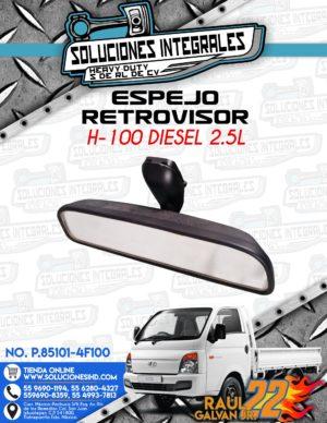 ESPEJO RETROVISOR H100 DIESEL 2.5L