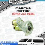MARCHA MOTOR URVAN 3.0L DIESEL