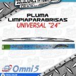OMNI5 PREMIUM PLUMA LIMPIAPARABRISAS 24 PULGADAS