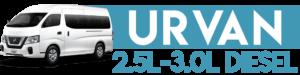 URVAN 2.5L-3.0L DIESEL