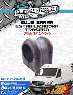 BUJE BARRA ESTABILIZADORA TRASERA SPRINTER OM646