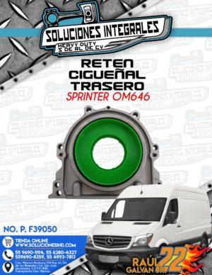 RETEN CIGUEÑAL TRASERO SPRINTER OM646