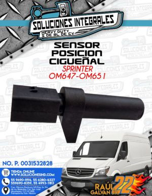 SENSOR POSICIÓN CIGUEÑAL SPRINTER OM647-OM651
