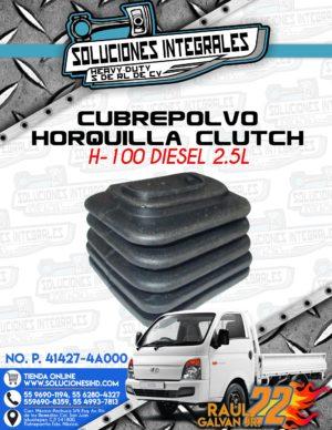 CUBREPOLVO HORQUILLA CLUTCH H100 DIESEL 2.5L