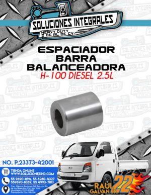 ESPACIADOR BARRA BALANCEADORA H100 DIESEL 2.5L