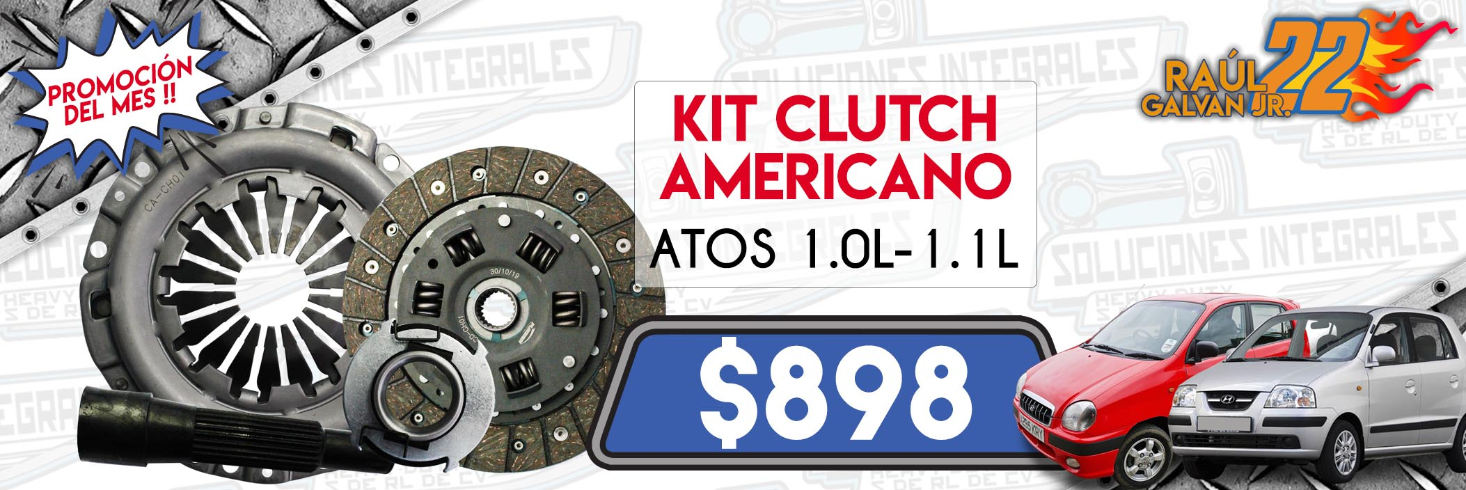 kit clutch americano atos 1.0l-1.1l