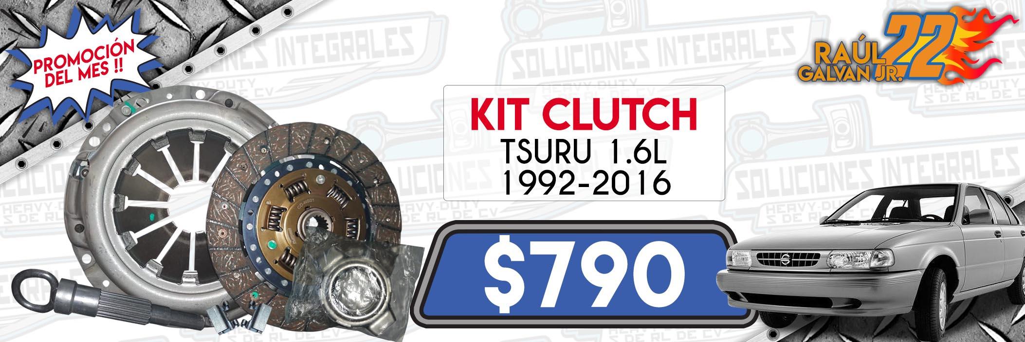 kit clutch tsuru 1.6l 1992-2016