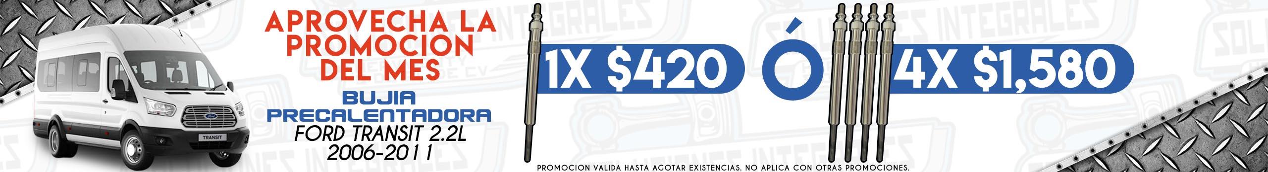 promocion bujia ford transit 2006-2011