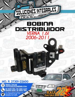 BOBINA DISTRIBUIDOR VERNA 1.6L 2006-2011