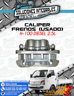 CALIPER FRENOS USADO H100 DIESEL 2.5L