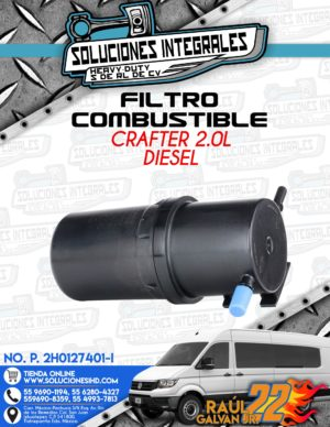 FILTRO COMBUSTIBLE CRAFTER 2.0L DIESEL