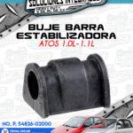 BUJE BARRA ESTABILIZADORA ATOS 1.0L-1.1L