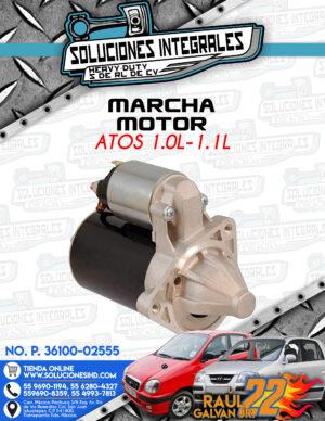 MARCHA MOTOR  ATOS 1.0L – 1.1L