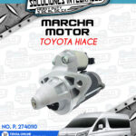 MARCHA MOTOR TOYOTA HIACE