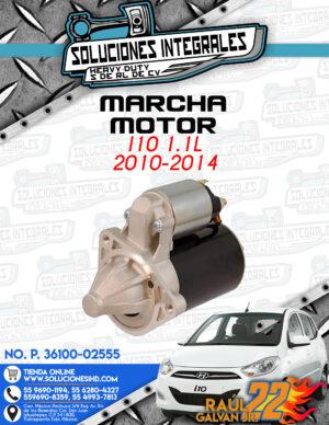 MARCHA MOTOR  i10 1.1L