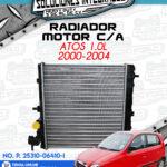 RADIADOR MOTOR CON AIRE ATOS 1.0L 2000-2004