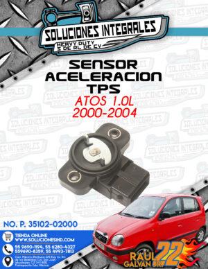 SENSOR ACELERACIÓN TPS ATOS 1.0L