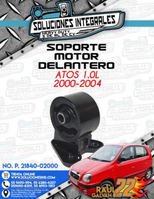 SOPORTE MOTOR DELANTERO ATOS 1.0L