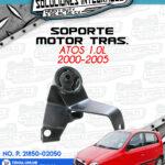 SOPORTE MOTOR TRASERO ATOS 1.0l 2000-2005