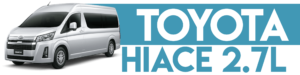 TOYOTA HIACE 2.7L