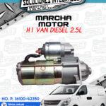 MARCHA MOTOR H1 VAN WAGON DIESEL 2.5L
