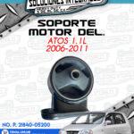SOPORTE MOTOR DELANTERO ATOS 1.1L 2006-2011