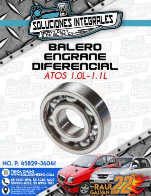 BALERO ENGRANE DIFERENCIAL ATOS 1.0L-1.1L