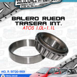 BALERO RUEDA TRASERA INTERIOR ATOS 1.0L-1.1L