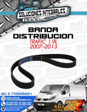 BANDA DISTRIBUCION TRAFIC 1.9l 2007-2013