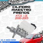 CILINDRO MAESTRO FRENOS ATOS 1.0L