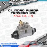 CILINDRO RUEDA TRASERO IZQUIERDO ATOS 1.0L-1.1L