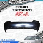 FACIA TRASERA VERNA 1.6l 2003-2005
