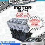 MOTOR 3/4 REMAN A CAMBIO ATOS 1.1L