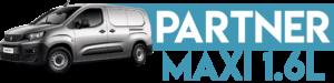 PARTNER MAXI 1.6L 2013-2019