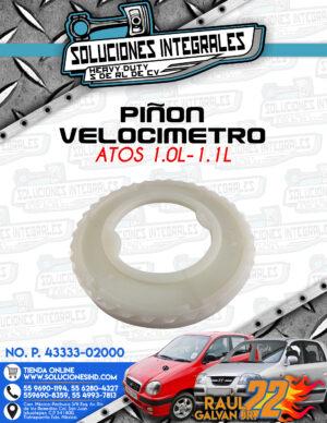 PIÑON VELOCIMETRO ATOS 1.0L-1.1L