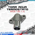 TOMA AGUA TERMOSTATO ATOS 1.0L-1.1L